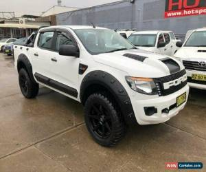 Classic 2014 Ford Ranger PX XL White Automatic A Utility for Sale