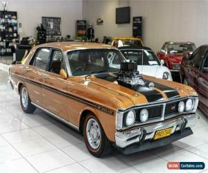 Classic 1971 Ford Falcon XY GT Gold Manual 4sp M Sedan for Sale