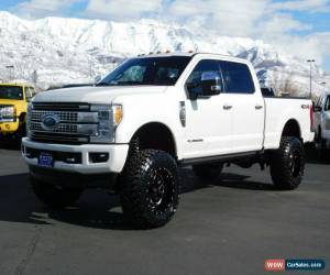 Classic 2017 Ford F-250 PLATINUM for Sale
