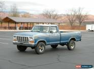 1978 Ford F-250 Ranger 4X4 for Sale
