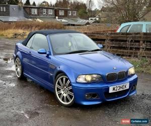 Classic BMW m3 convertible e46  for Sale