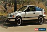 Classic 1988 Honda CRX for Sale