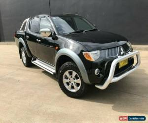 Classic 2007 Mitsubishi Triton Black Automatic A Utility for Sale