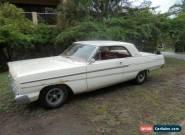 1965 FORD FAIRLANE 500 2 DOOR HARDTOP 1 OWNER RUST FREE CALIFORNIA CAR MANUAL  for Sale