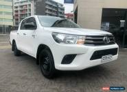 2015 Toyota Hilux GGN120R SR White Automatic 6sp A Dual Cab Utility for Sale