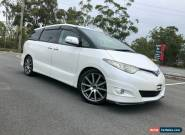 2007 Toyota Estima GSR50 Aeras G Package White Automatic 5sp A Wagon for Sale