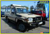 Classic 2011 Toyota Landcruiser VDJ78R 09 Upgrade Workmate (4x4) 11 Seat Sandy Taupe M for Sale