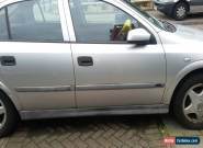 2000 VAUXHALL ASTRA CLUB 16V SILVER for Sale