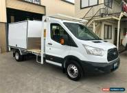 2015 Ford Transit VO 470E White Manual M Cab Chassis for Sale