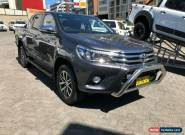 2017 Toyota Hilux GUN126R MY17 SR5+ (4x4) Graphite Automatic 6sp A for Sale