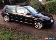 VW Golf GTI 1.8T 180bhp 3dr Black Mk4 Excellent Condition for Sale