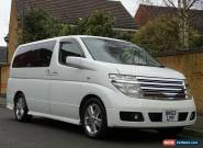 2017 NISSAN ELGRAND RIDER 3.5 V6 AUTOMATIC 8 SEATER WHITE FULL LEATHER STUNNING for Sale