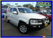 2015 Volkswagen Amarok 2H MY15 TDI420 (4x4) White Automatic 8sp A Cab Chassis for Sale