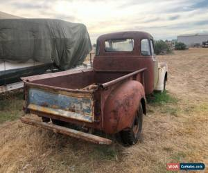 Classic 1947 5 window chevy 3600 pickup,rat rod,Hotrod  for Sale