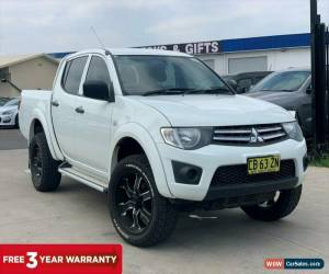 Classic 2014 Mitsubishi Triton White Automatic A Utility for Sale