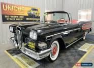 1958 Edsel Citation Convertible for Sale