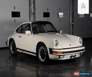 Classic 1986 Porsche 911 for Sale