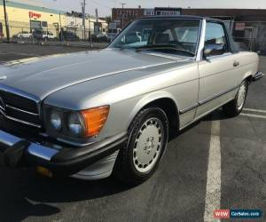 Classic 1986 Mercedes-Benz SL-Class for Sale