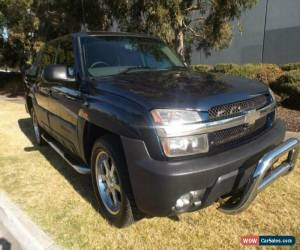 Classic 2005 Chevrolet Avalanche 1500 Blue Automatic A for Sale