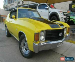 Classic 1971 Chevrolet Chevelle SS Yellow Automatic A Coupe for Sale