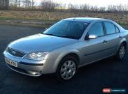 2007 FORD MONDEO LX SILVER for Sale