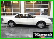 1989 Cadillac Allante 2 Dr Convertible for Sale