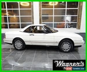 Classic 1989 Cadillac Allante 2 Dr Convertible for Sale