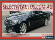 2013 Holden Ute VF SS-V Redline Black Manual 6sp M Utility for Sale