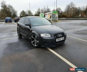 Classic Audi A3 S Line 2.0TDI Quattro 2008 230BHP on coilovers 5 door for Sale