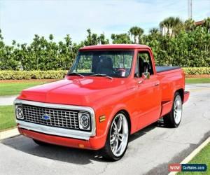 Classic 1972 Chevrolet C-10 Stepside for Sale