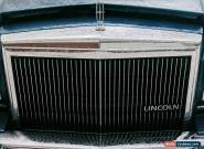 1988 Lincoln Town Car for Sale