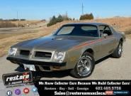1974 Pontiac Firebird Super Duty Auto, 1 of 58, PHS, 35k Miles, Silver for Sale