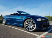 2004 BMW E46 M3 Convertible Individual. Very rare Aegean Blue.   for Sale