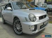 2001 Subaru Impreza MY02 WRX (AWD) Silver Manual 5sp M Sedan for Sale