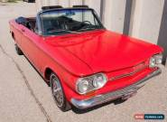 1963 Chevrolet Corvair Corvair Monza Series 900 Convertible for Sale