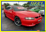 Classic 2001 Holden Commodore VX II SS Red Sedan for Sale