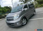 2010 Nissan Elgrand E51 Series 3 Highway Star Silver Automatic A Wagon for Sale
