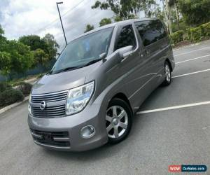 Classic 2010 Nissan Elgrand E51 Series 3 Highway Star Silver Automatic A Wagon for Sale