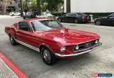 Classic 1967 Ford Mustang GTA Fastback for Sale