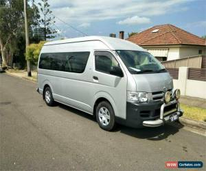 Classic 2007 Toyota HiAce TRH223R Commuter Silver Automatic A Bus for Sale