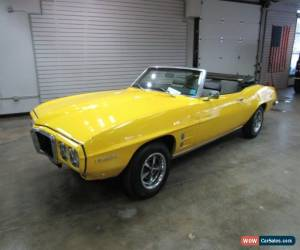 Classic 1969 Pontiac Firebird 2dr Conv Firebird for Sale