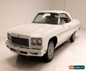 Classic 1975 Chevrolet Caprice Convertible for Sale