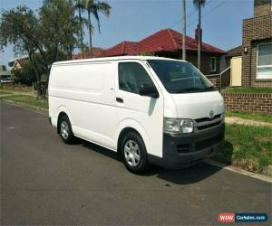 Classic 2008 Toyota HiAce TRH201R White Manual M Van for Sale