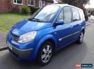 2006 RENAULT G-SCENIC grand DYNAMIQUE AUTO BLUE 7 SEATER * NEW MOT * for Sale