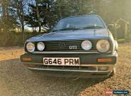 VW Golf MK2 UK Reg GTI 3dr Metallic Silver 160k Big Bumper Accepting Offers!! for Sale