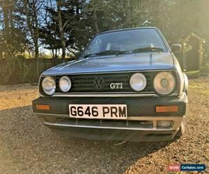Classic VW Golf MK2 UK Reg GTI 3dr Metallic Silver 160k Big Bumper Accepting Offers!! for Sale
