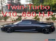 2012 Audi R8 5.2 Quattro Spyder Twin-Turbo for Sale