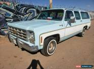 1977 Chevrolet Suburban for Sale