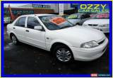 Classic 2001 Ford Laser KN LXI White Manual 5sp M Sedan for Sale
