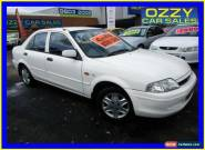 2001 Ford Laser KN LXI White Manual 5sp M Sedan for Sale